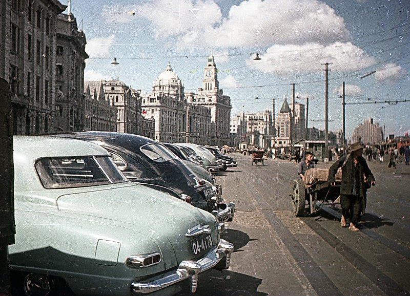 1949-50 Shanghai. Микоша. Набережная Вайтань2