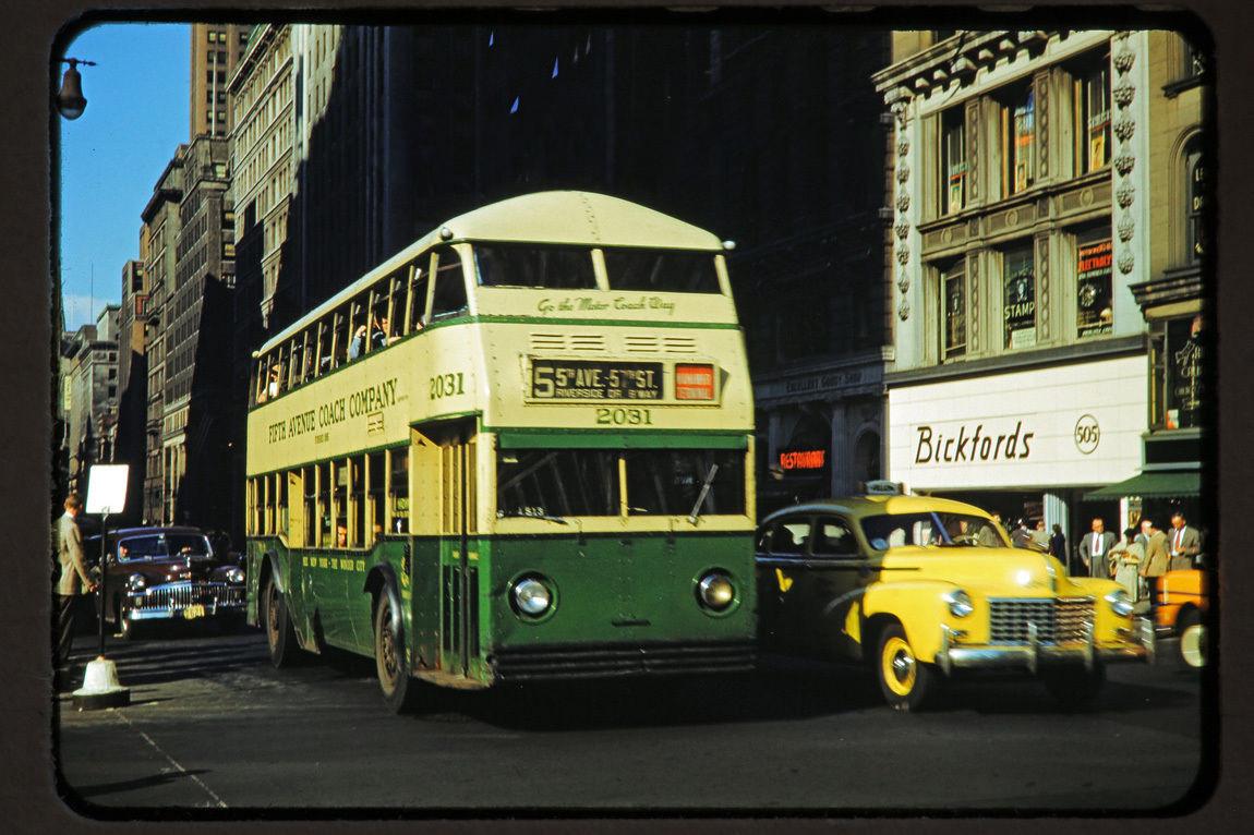 1950 NY Пятая Авеню2