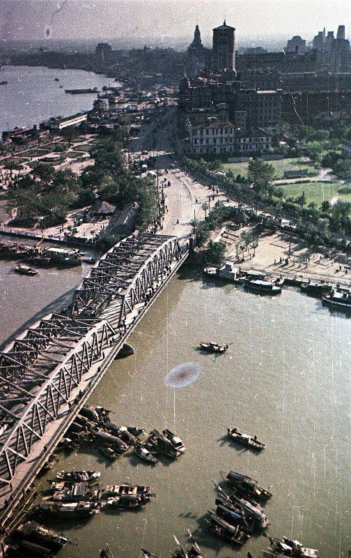1949-50 Shanghai. Микоша. Набережная Вайтань5