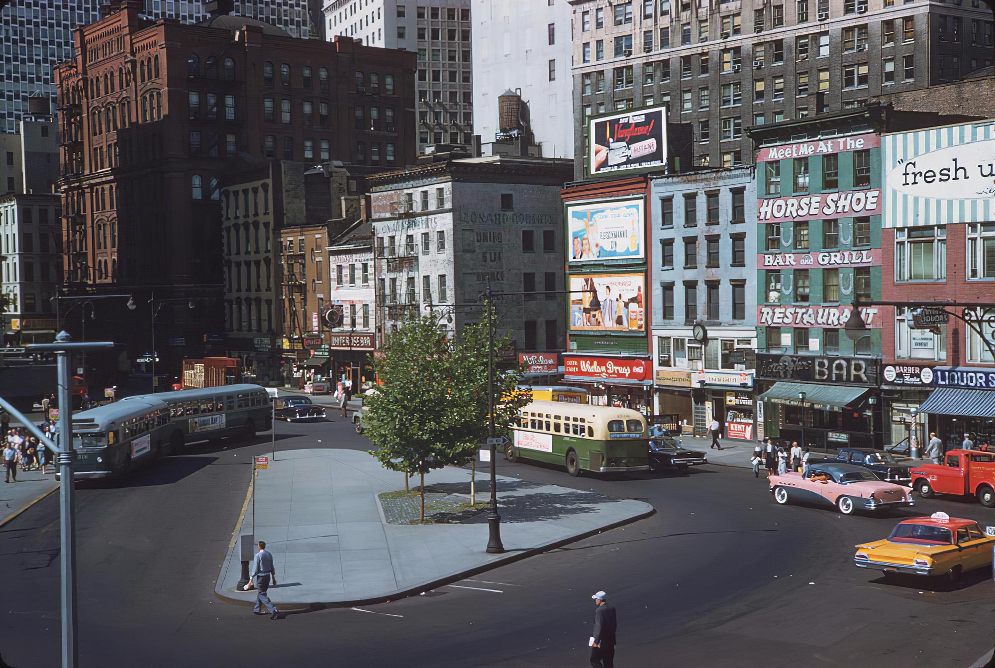 1960 NY Peter Minuit Plaza lower Manhattan. Kushman1