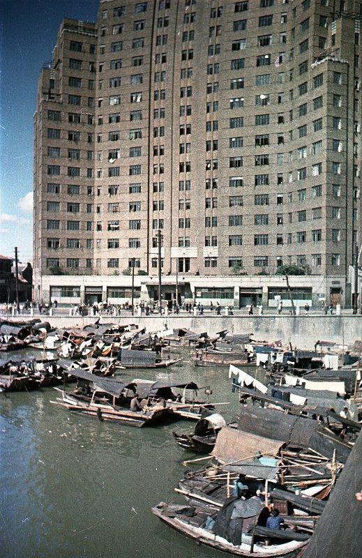 1949-50 Shanghai. Микоша. Набережная