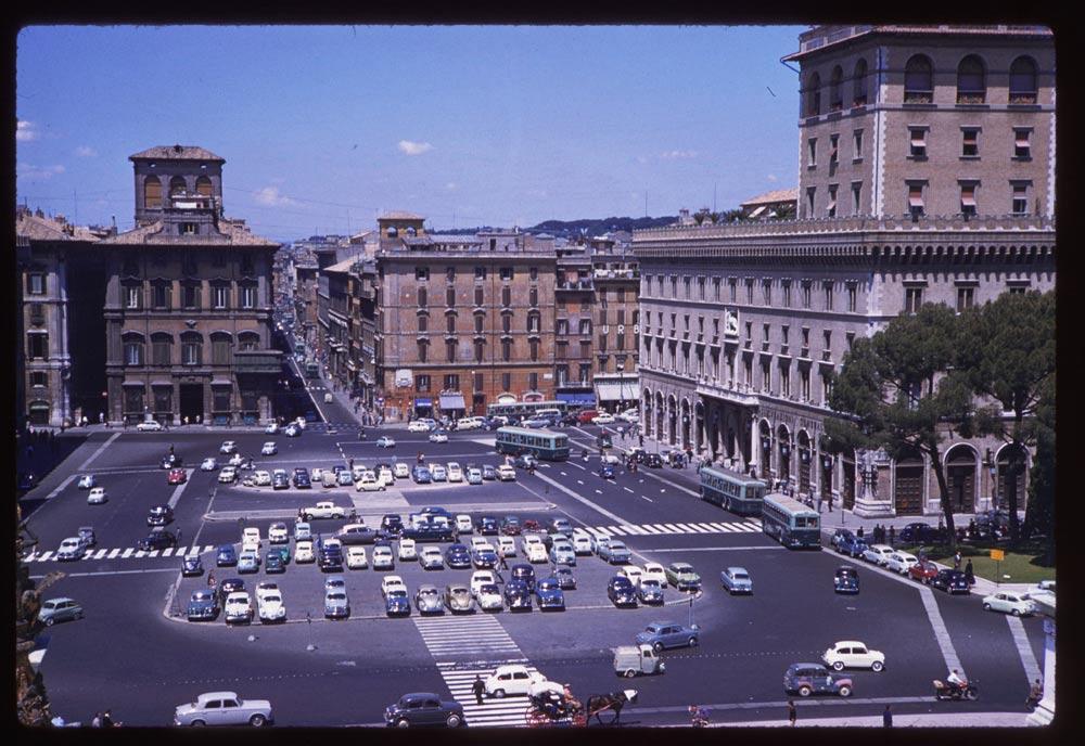1960 Rome Piazza Venezia