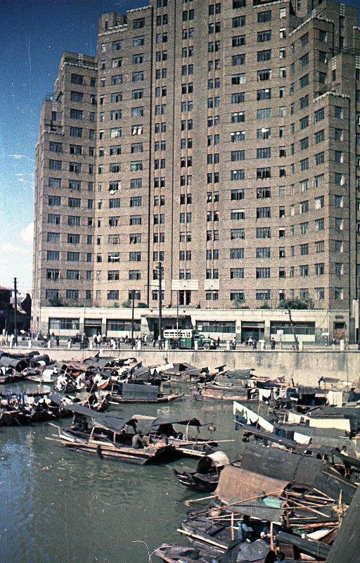 1949-50 Shanghai. Микоша. Набережная2