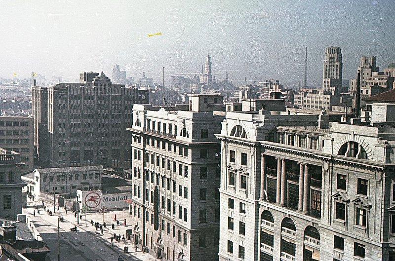 1949-50 Shanghai. Микоша. Улица