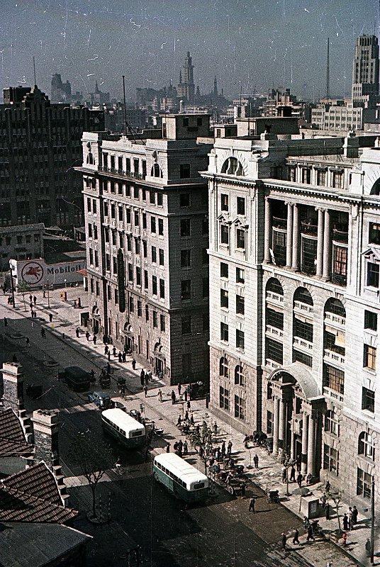 1949-50 Shanghai. Микоша. Улица2