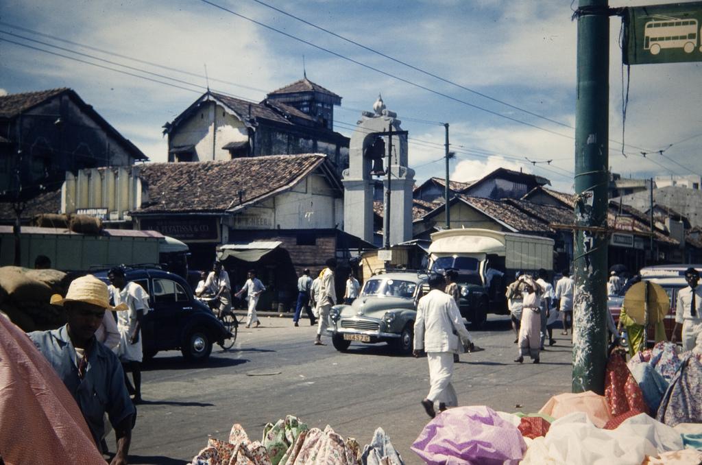 1960c Colombo Silk Bazaar
