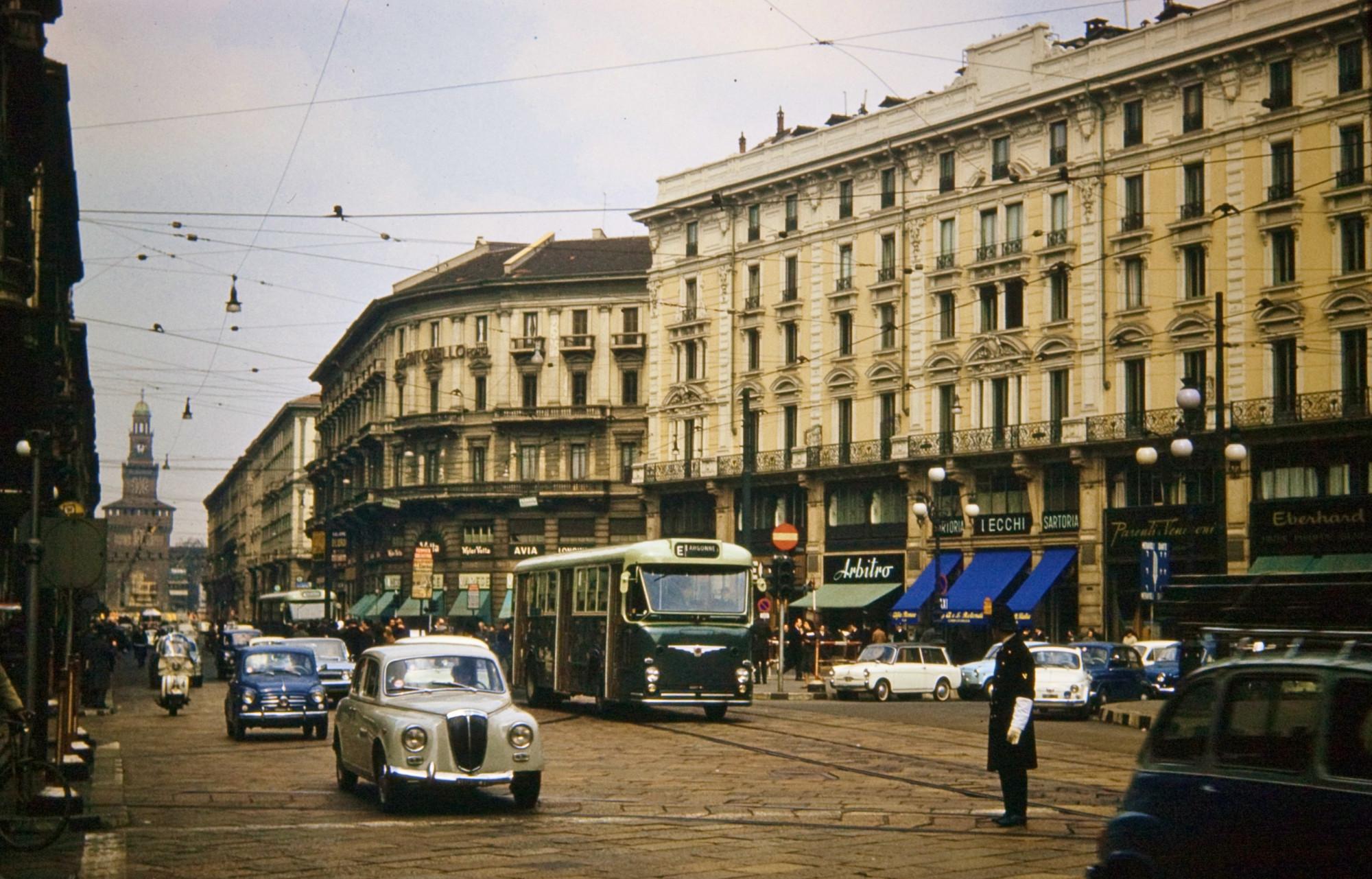 1960c Milan Via Dante