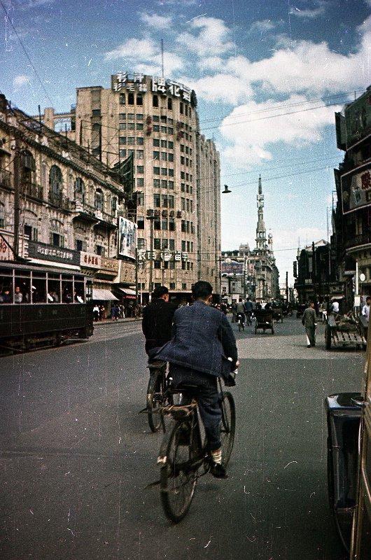 1949-50 Shanghai. Микоша. Улица4
