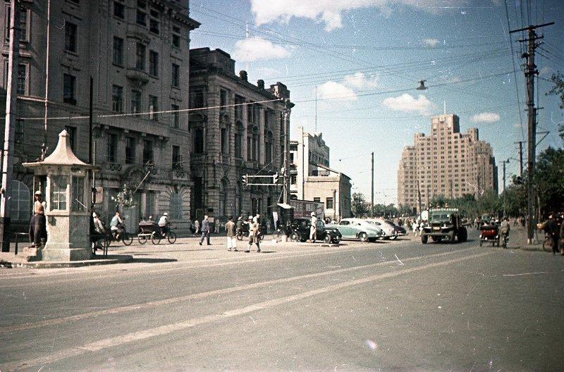 1949-50 Shanghai. Микоша. Улица5