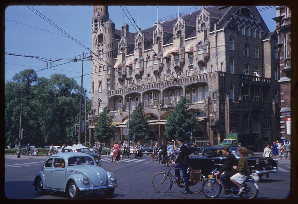 Амстердам, Leidscheplein, 1960