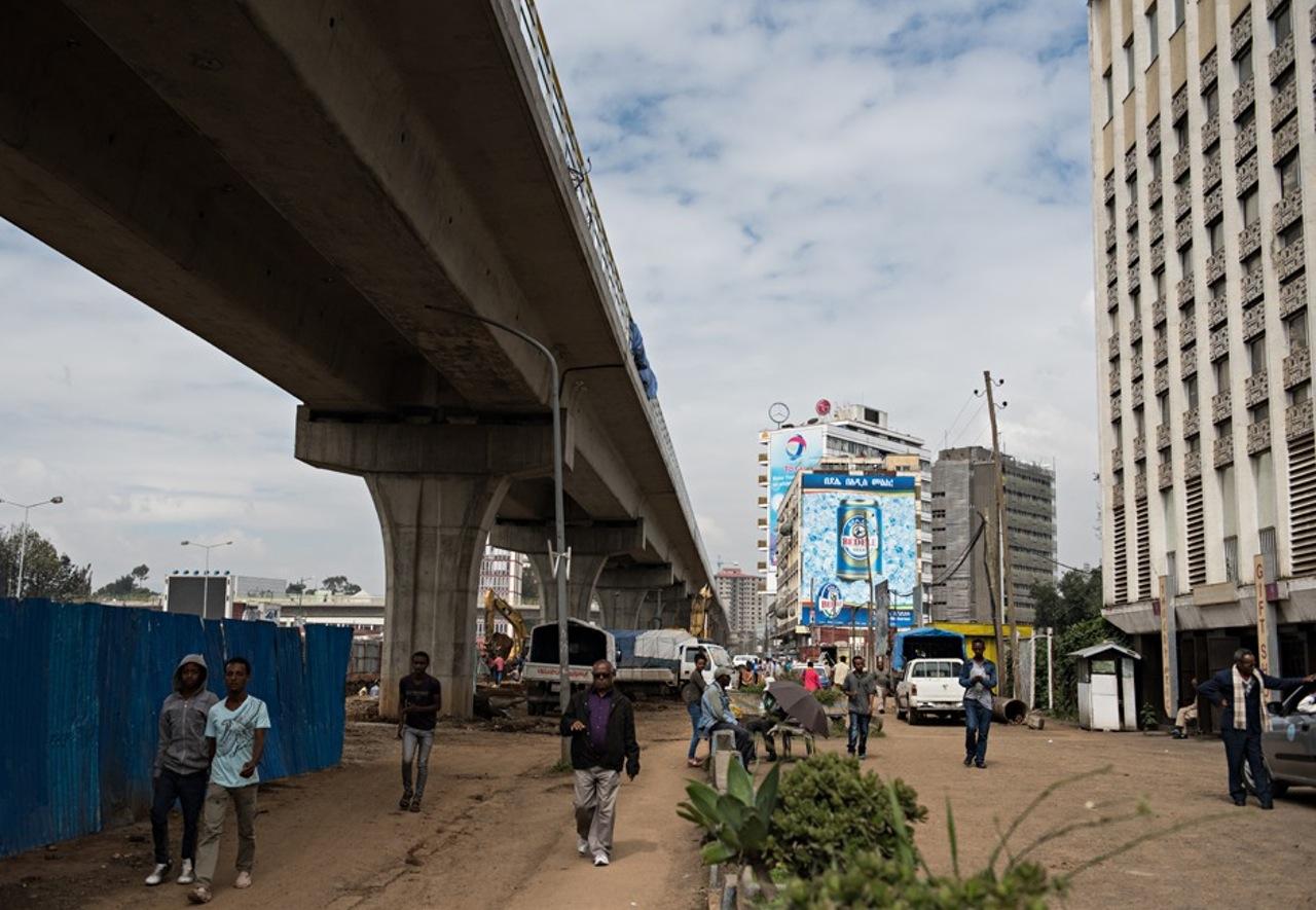 1990 Addis Ababa, Meskel Square 2014 by Michael Tsegaye
