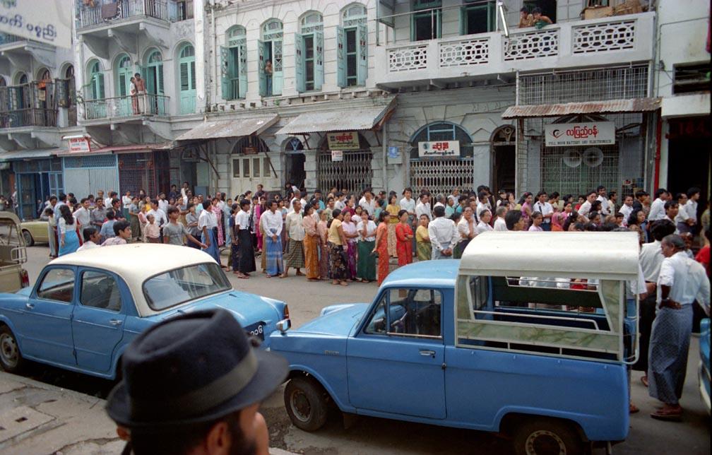 1990 Rangoon election