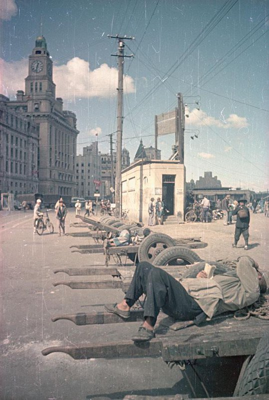 1949-50 Безработные рикши