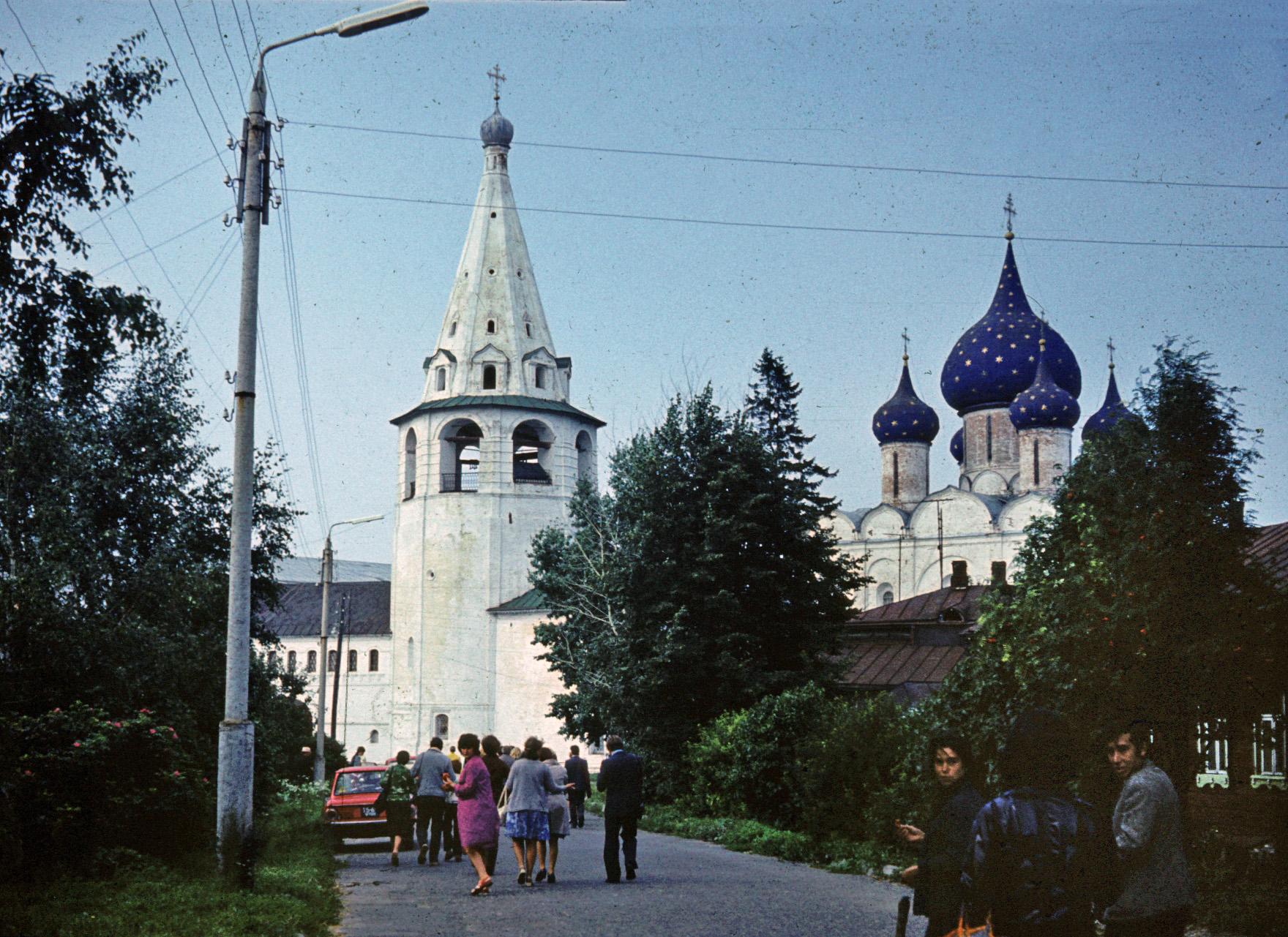 1976 Суздаль. Рождественский собор. Anton Kolozezny