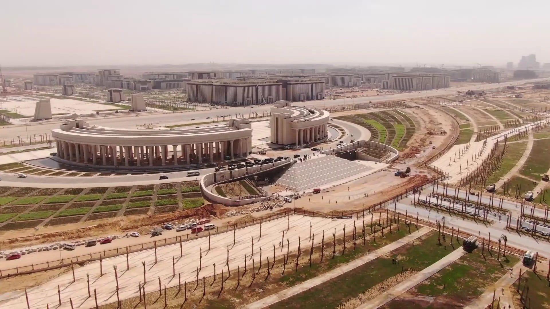 Ход строительства Новой Столицы Египта2