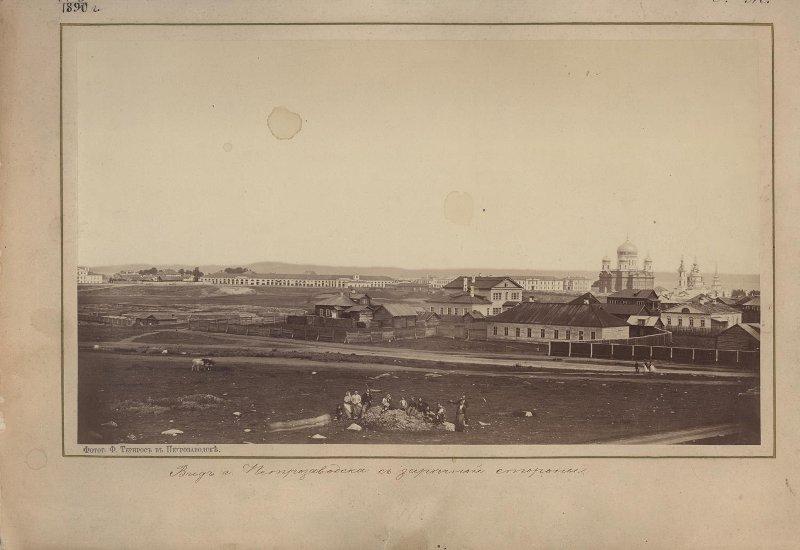 1873 Вид с Зареки. Тернрос Ф.