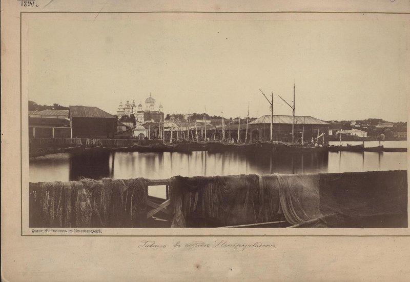 1873 Гавань в городе Петрозаводске. Тернрос Ф.