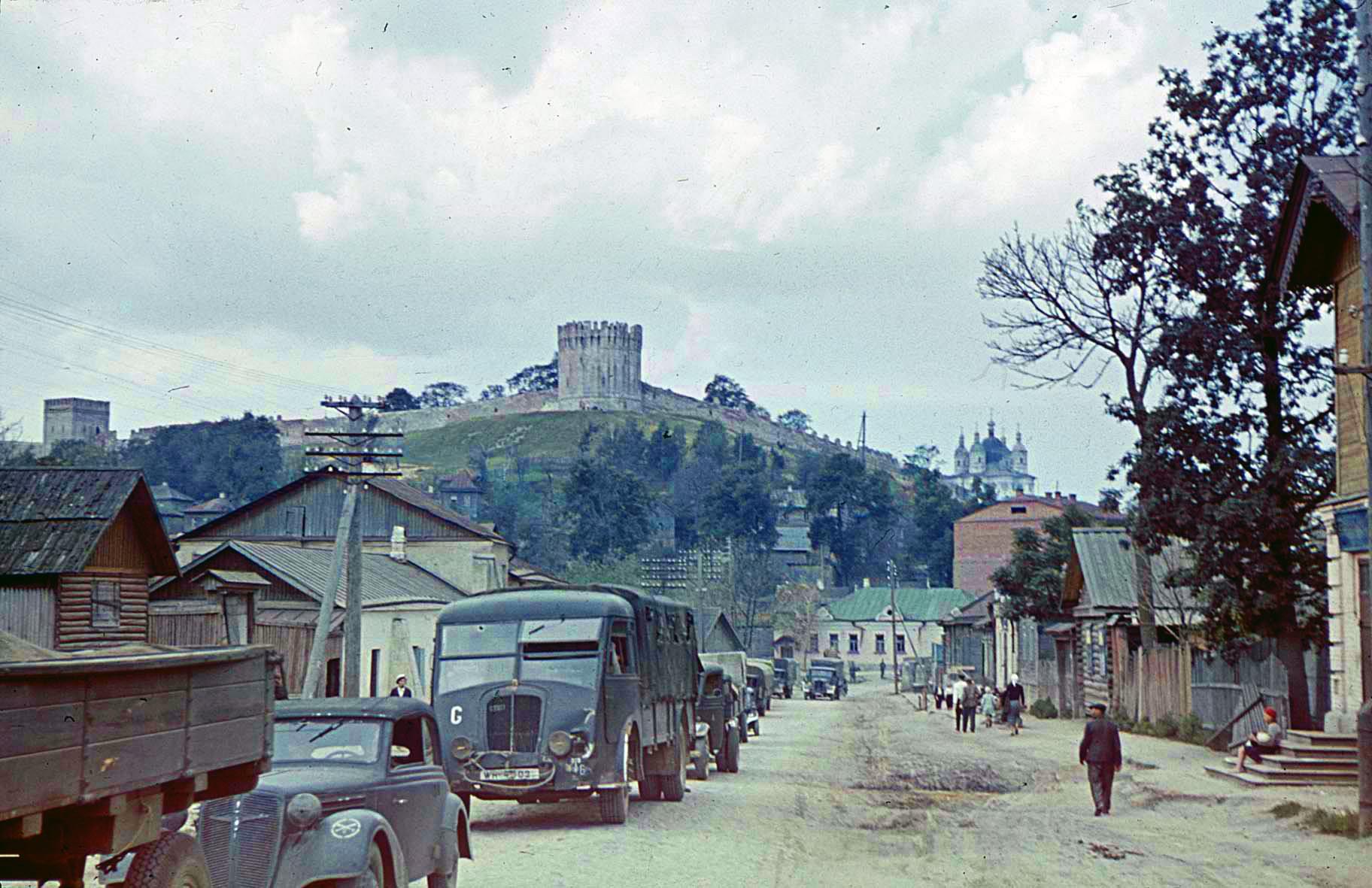Смоленск в августе 1941-го 1941 Deutsche Militaerfahrzeuge, Smolensk, August 1941f