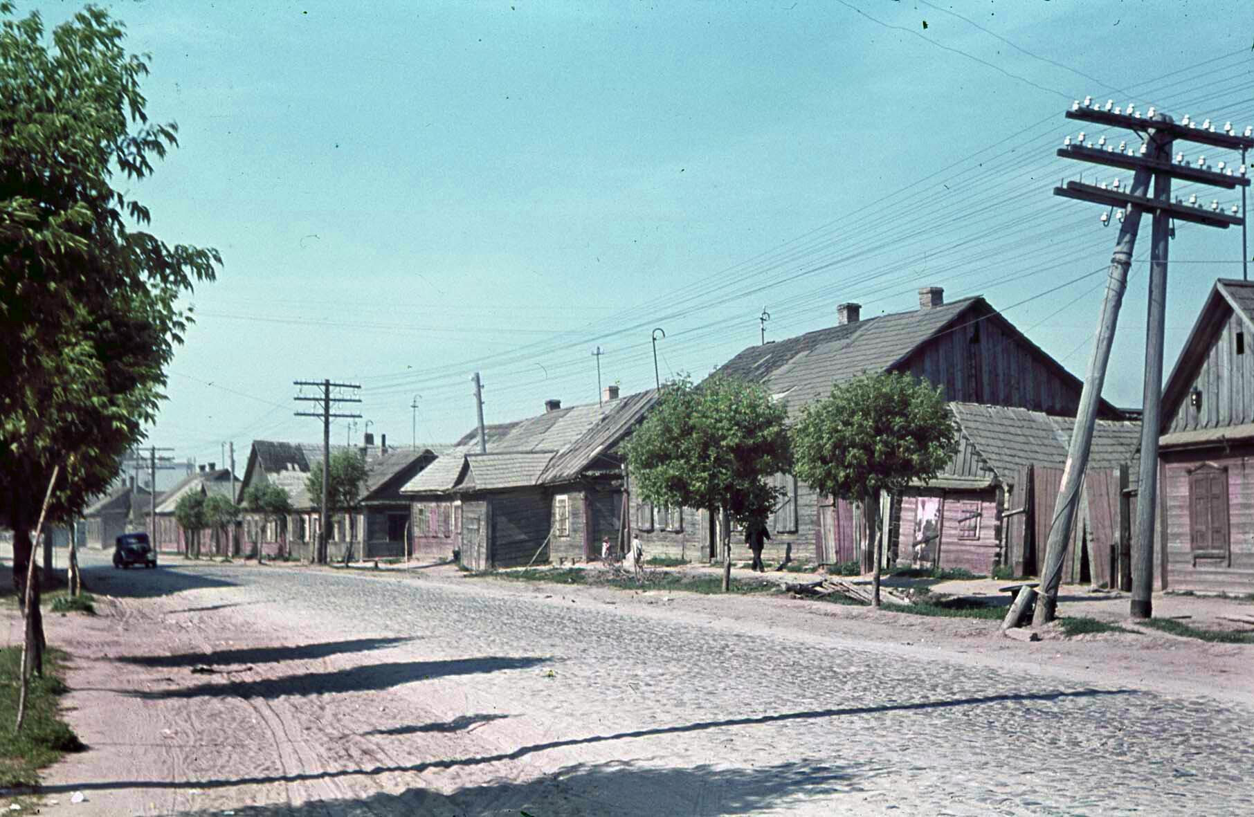 1941 Holzhäuser, Minsk, 10 Juli 1941