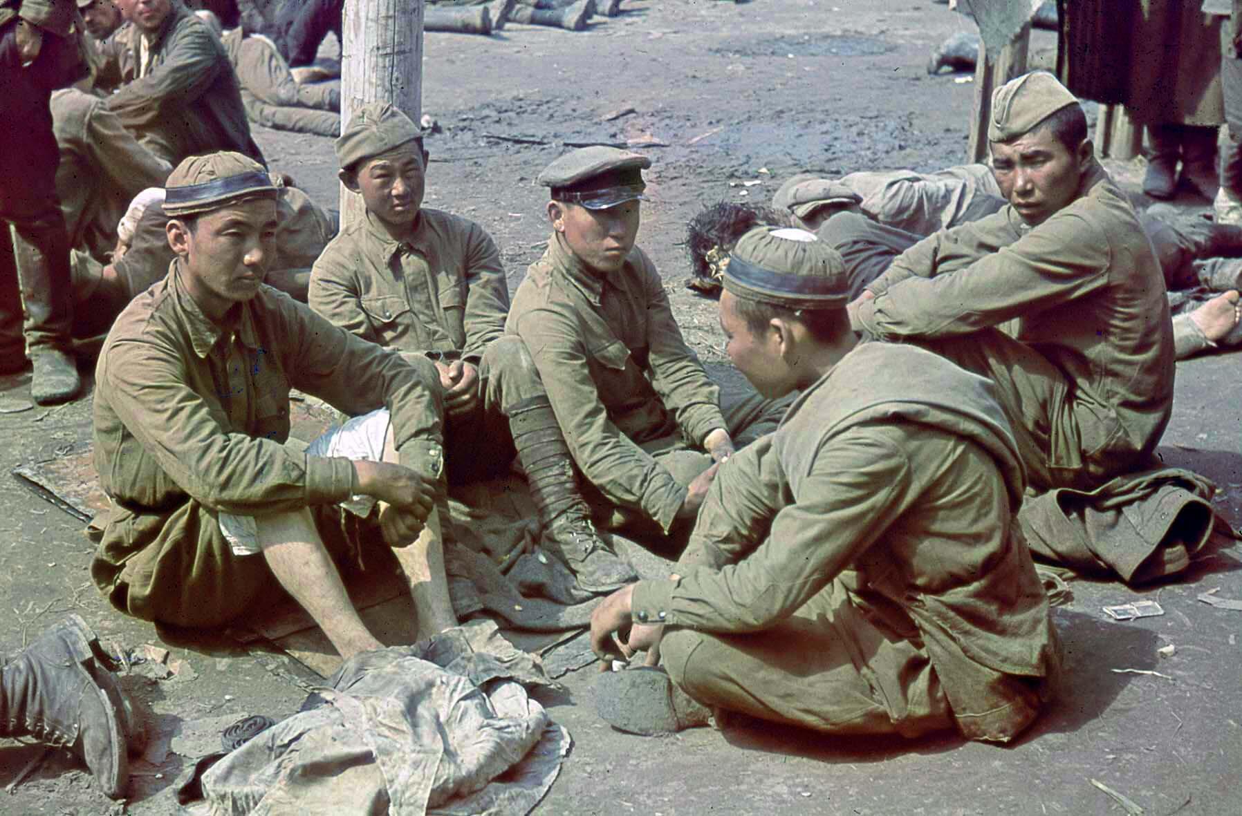 1941 Sowjetische Kriegsgefangene in Orscha, August 1941