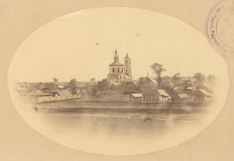 1870е-90е Суздаль. Борисоглебская сторона
