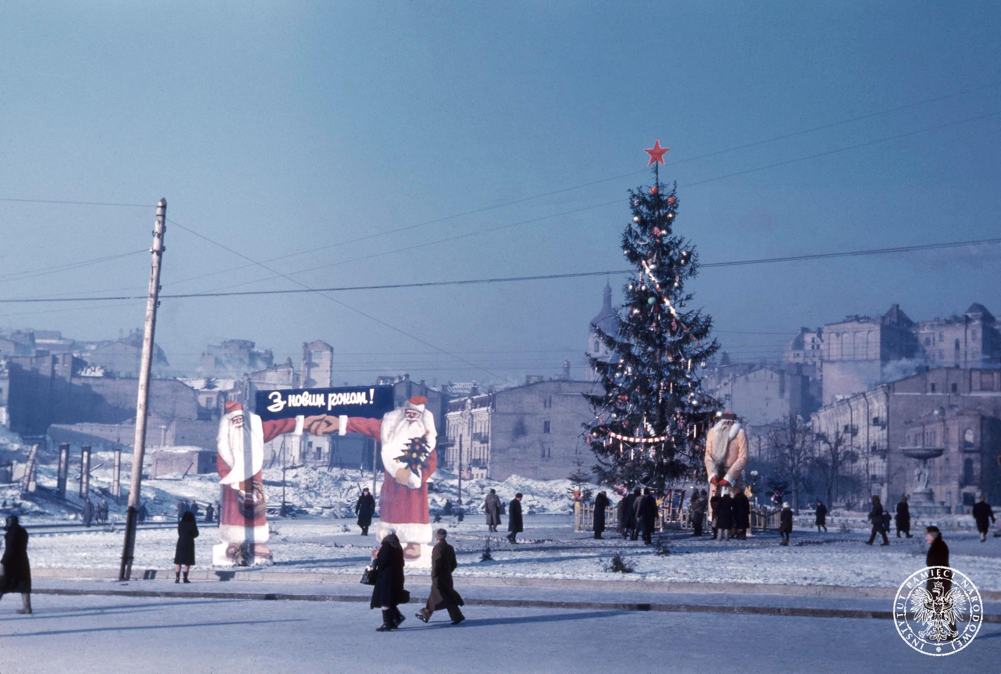 1947 Киев, пл. Калинина. Жульен Брайан