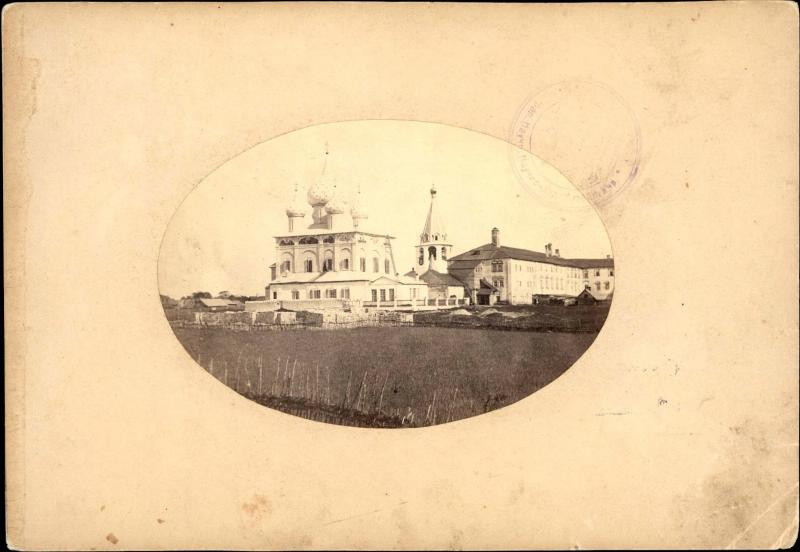 1880е-90е Суздаль. Рождественский собор и архиерейские покои XVII в.