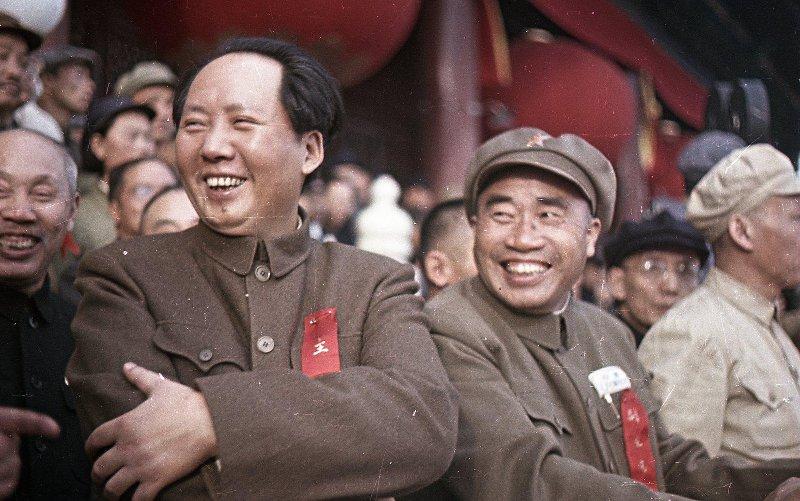 Первый год КНР в цвете. Мао