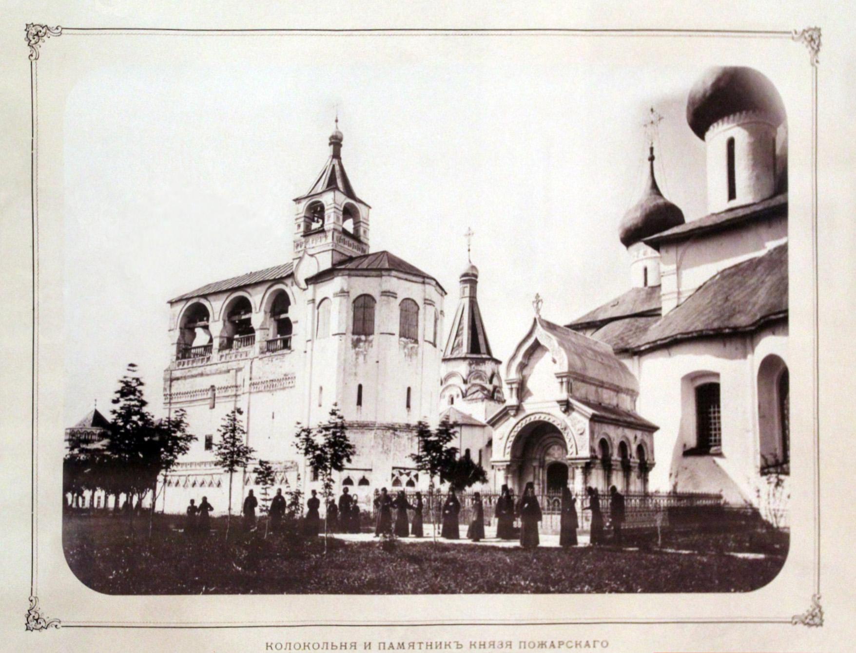 Старейшие фото памятников Суздаля, около 1870 г.