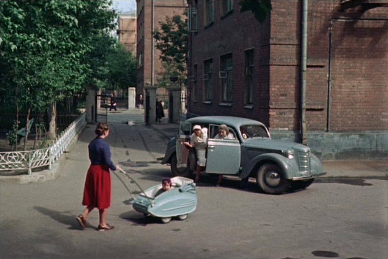1956 Дворик на Усачёвке