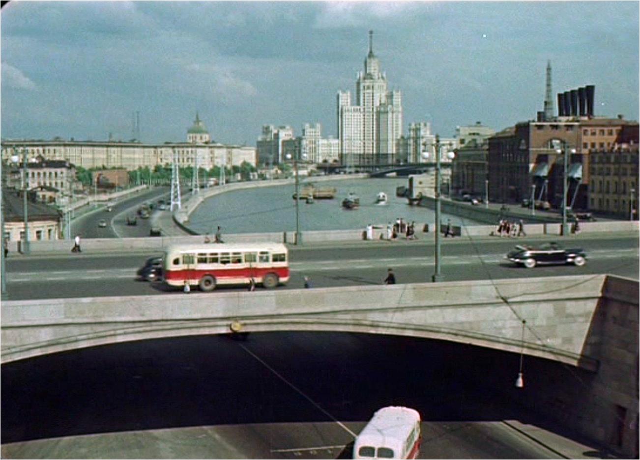 1956 Большой Москворецкий мост