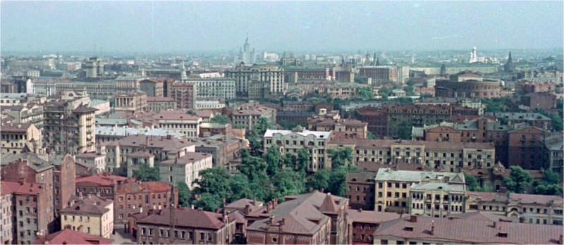 1956 Панорама Москвы