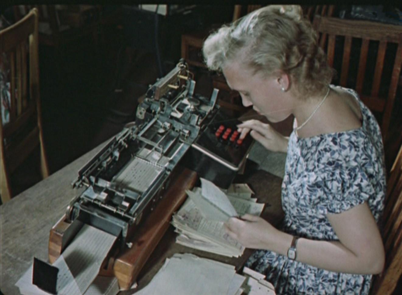 Советский персональный компьютер в 1956 году!