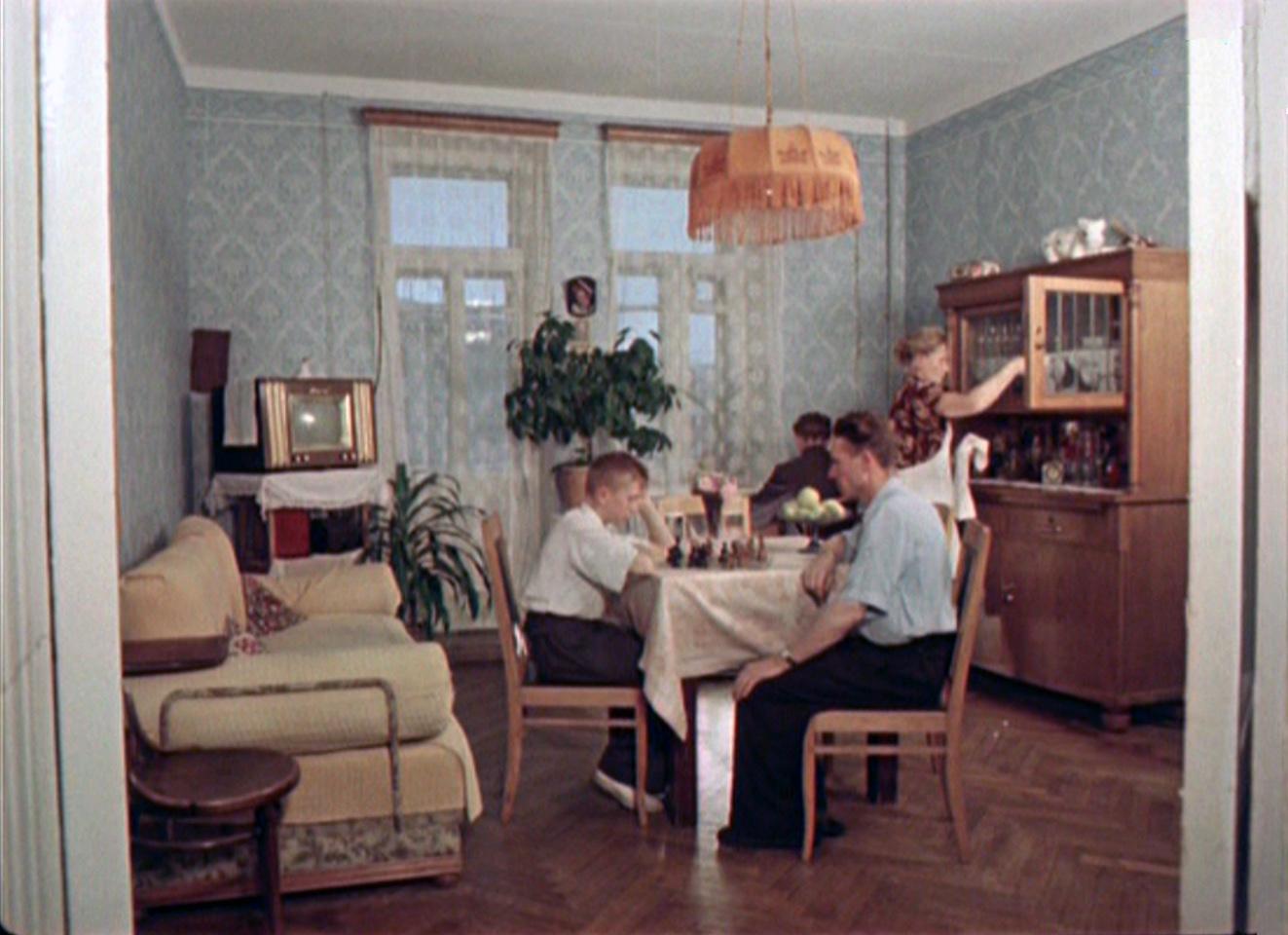 1956 квартира4 семьи рабочего  Шабалина