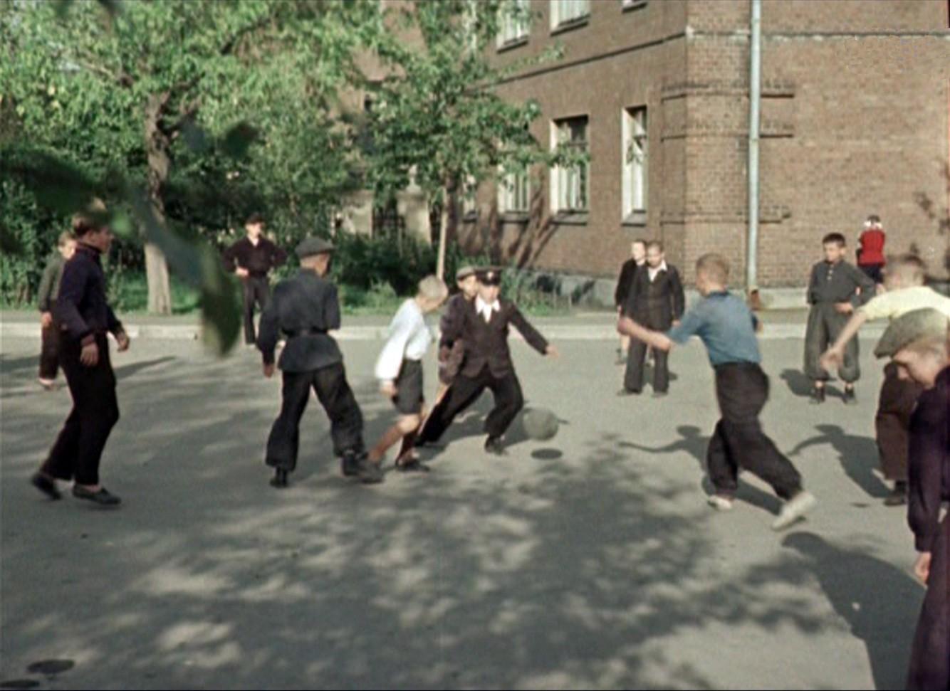 1956 футбол в московском дворе