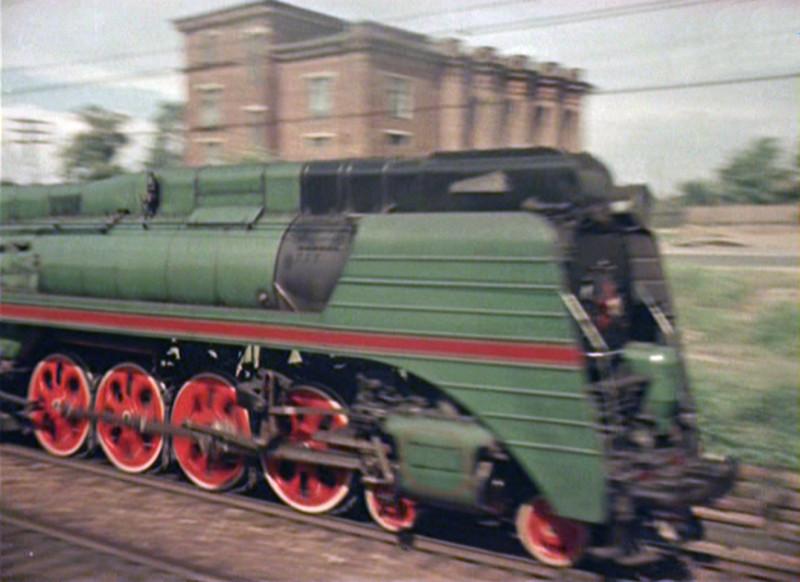 1956 паровоз СО