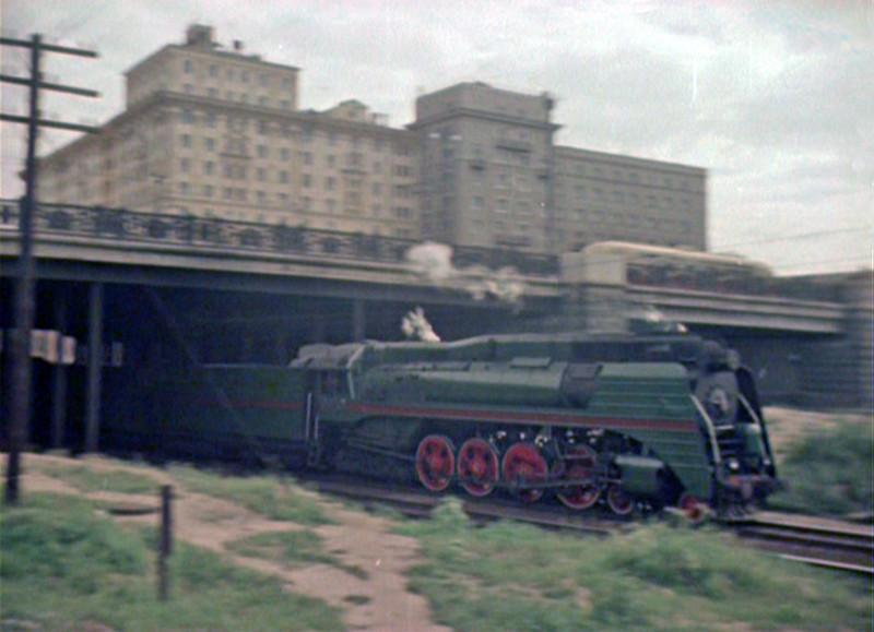 1956 паровоз СО3