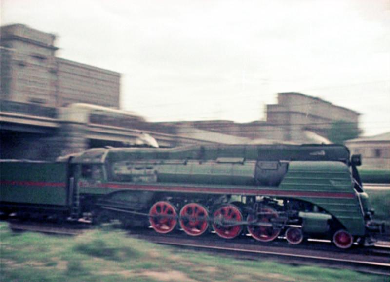 1956 паровоз СО4
