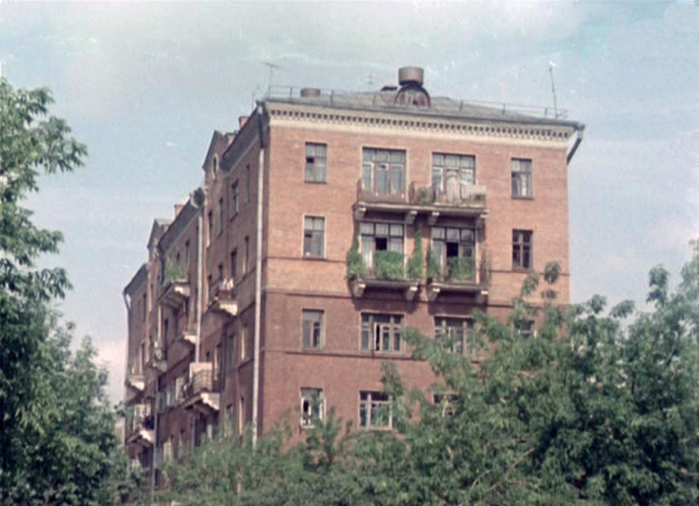 1956 Кооперативная улица в районе Усачёвки2