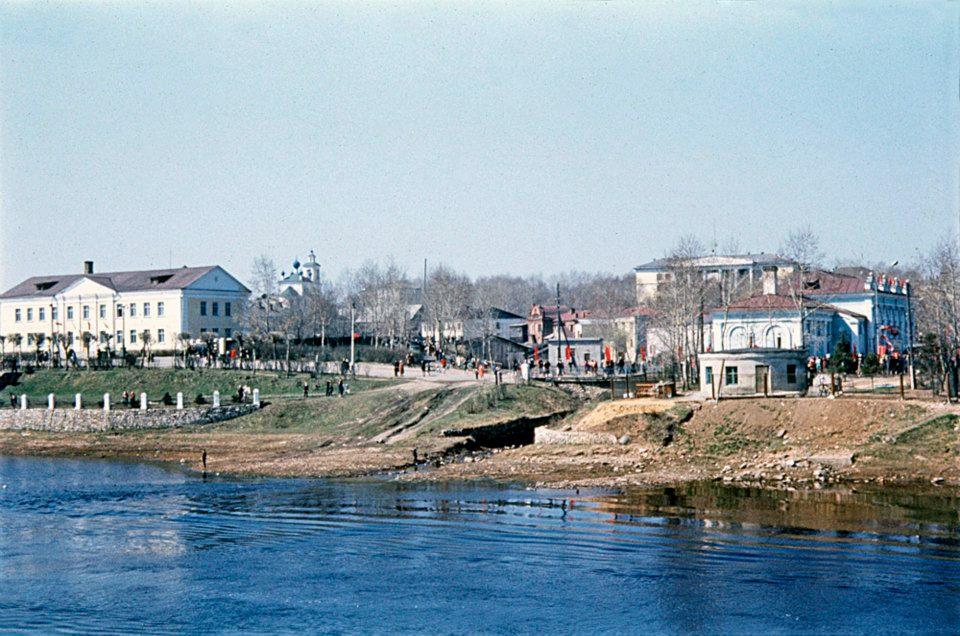 1972 Первомай в Торжке