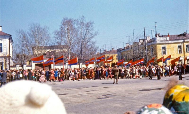 1972 Первомай в Торжке2