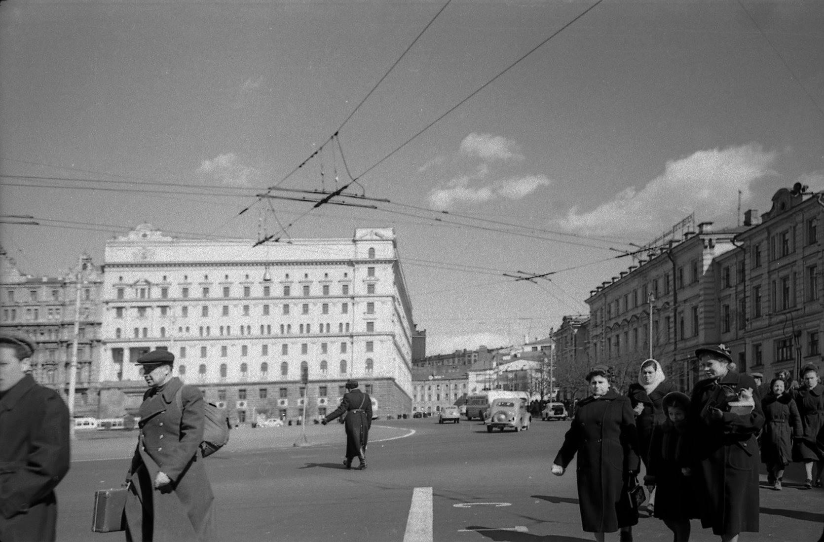 1956 Лубянская площадь (Дзержинского)