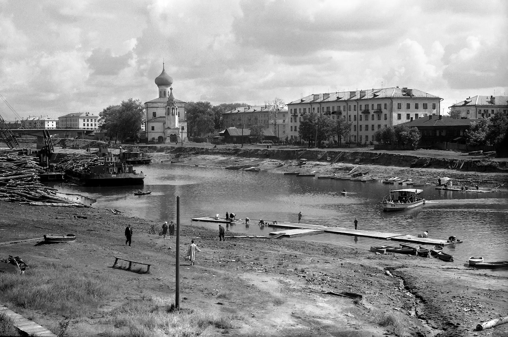 Вологда, нач. 70-х. Фото К.К.Доррендорфа