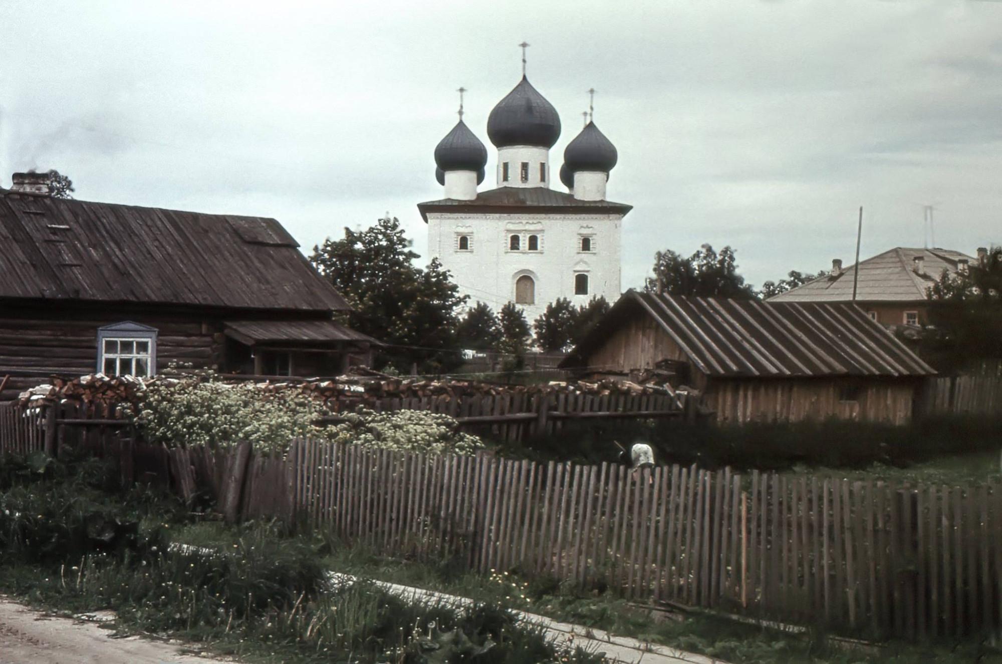 1965-71 Благовещенская церковь в Каргополе. Доррендорф