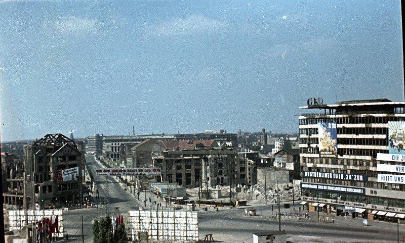 1951 Berlin. Potsdamerplatz