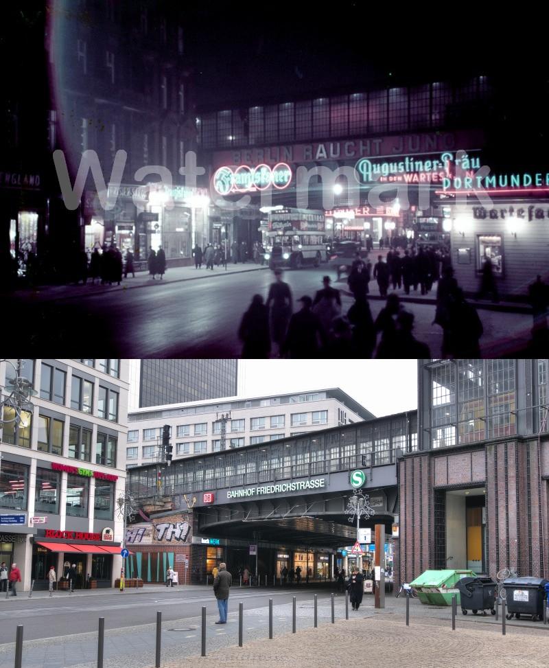 1938 Berlin Bahnhof Friedrichstrasse 2012