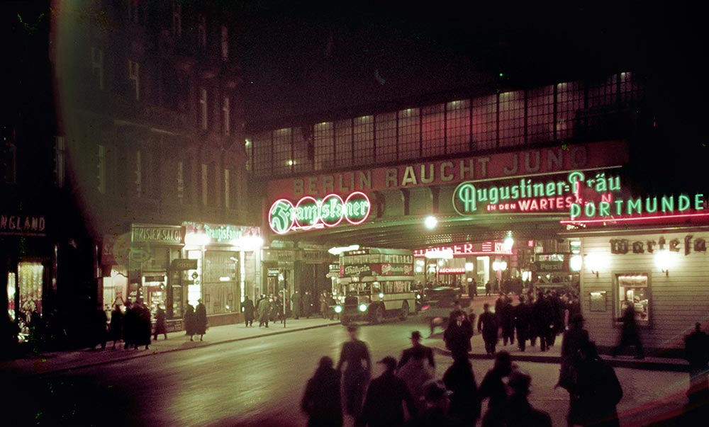 1938 Berlin Bahnhof Friedrichstrasse