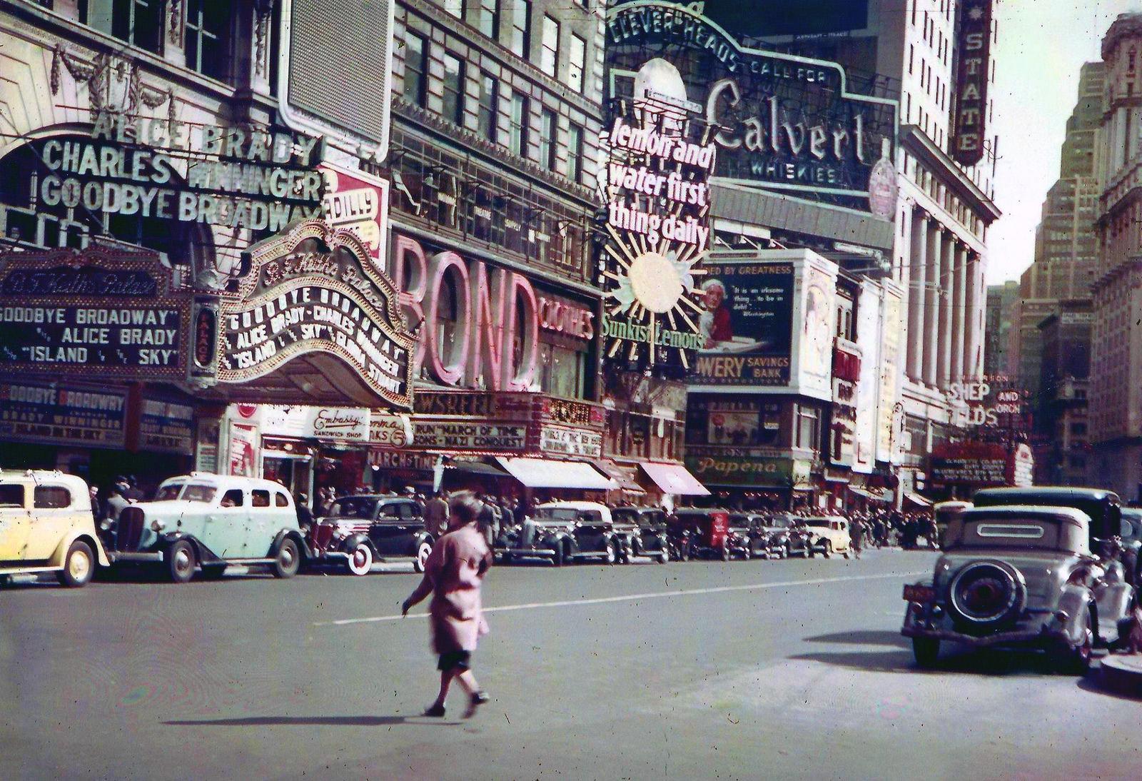 1938 NY Times Square