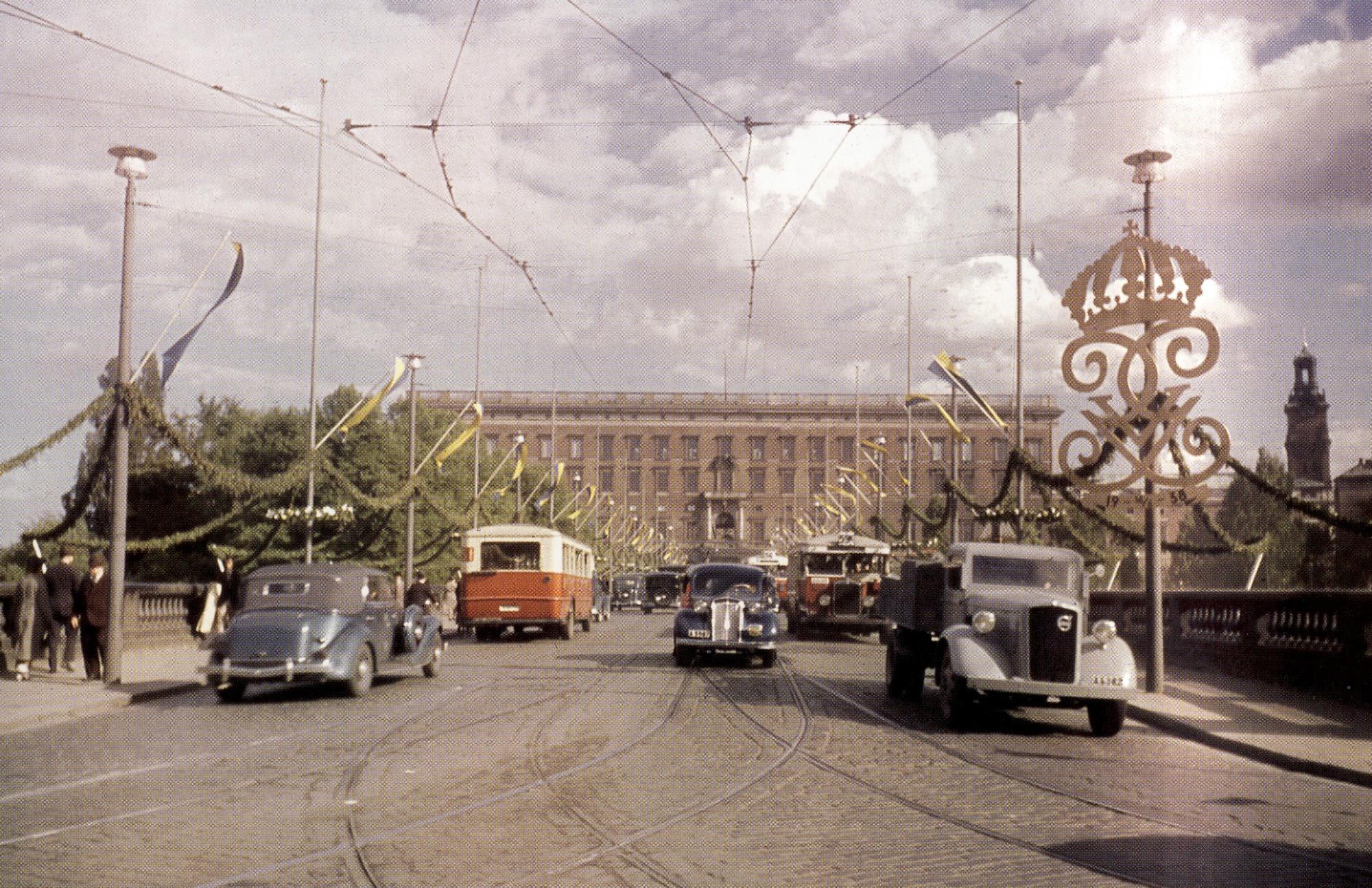 1938 Stockholm by Gunnar