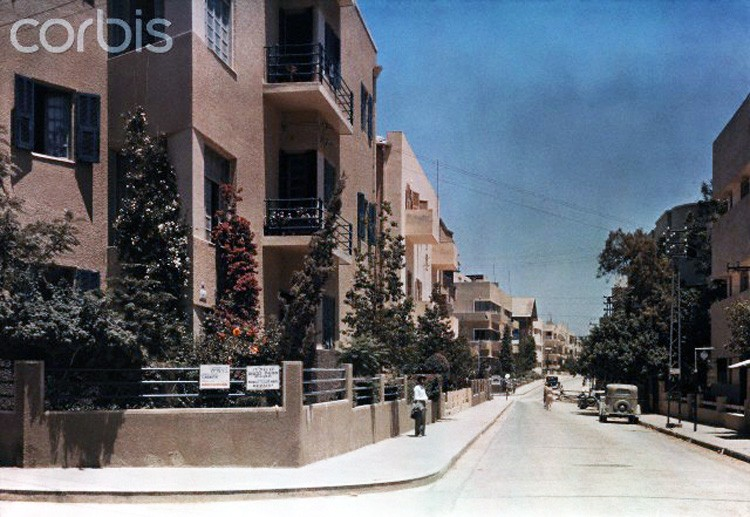 1938 Tel-Aviv by Robert Moore